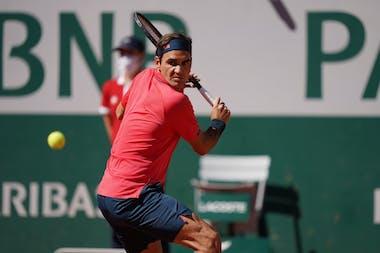 Roger Federer, Roland-Garros 2021 first round