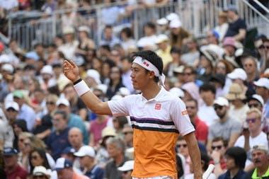 Kei Nishikori - Roland-Garros 2019 - 3e tou