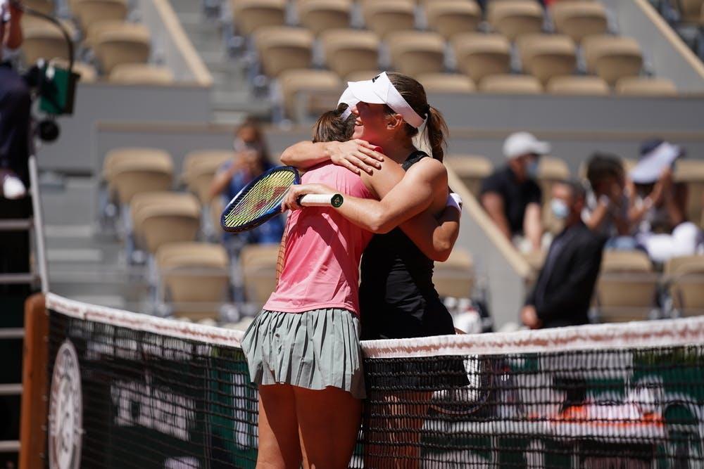 Iga Swiatek, Kaja Juvan, Roland Garros 2021, first round
