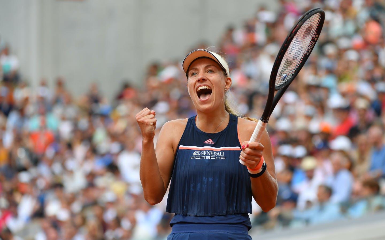 Angelique Kerber, Roland-Garros, 8è de finale