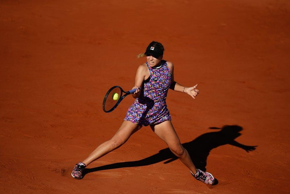 Sofia Kenin, Roland-Garros 2021 first round
