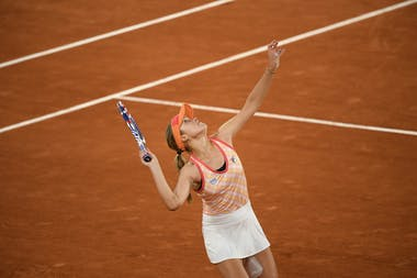 Sofia Kenin, Roland Garros 2020, fourth round