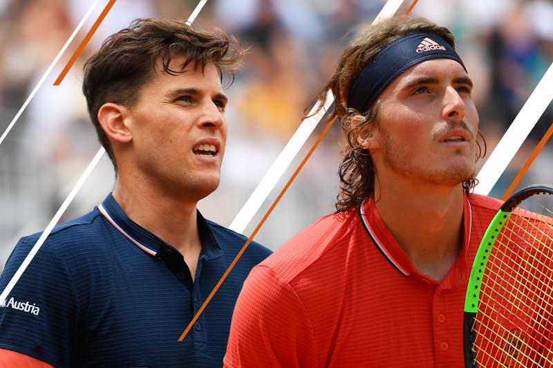 Thiem Tsitsipas 2nd round Roland-Garros 2018.