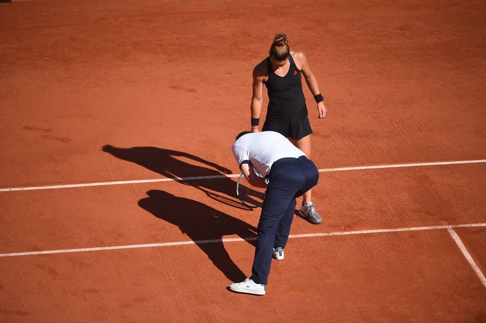 Maria Sakkari, Roland-Garros 2021, semi-final