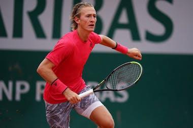 Sebastian Korda, Roland Garros 2020 first round