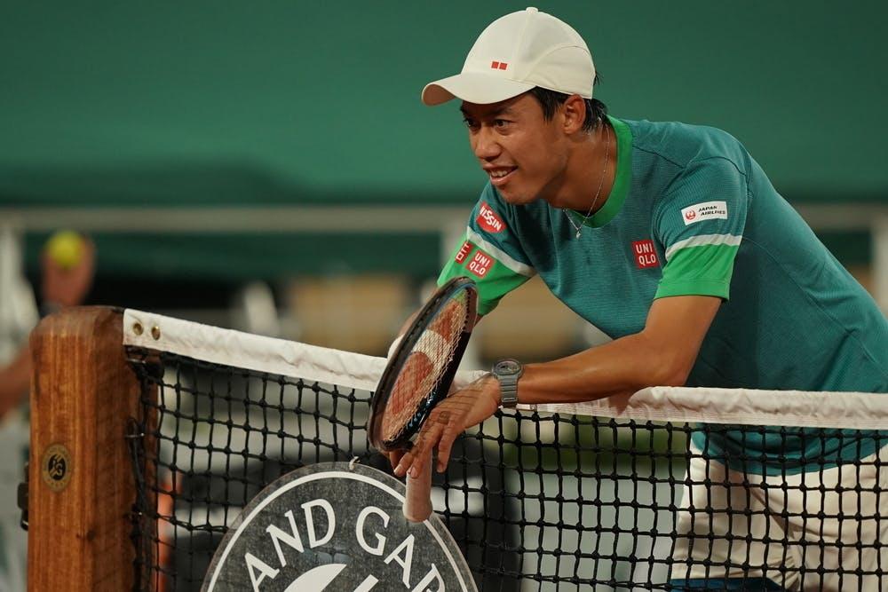 Kei Nishikori, Roland Garros 2021, fourth round