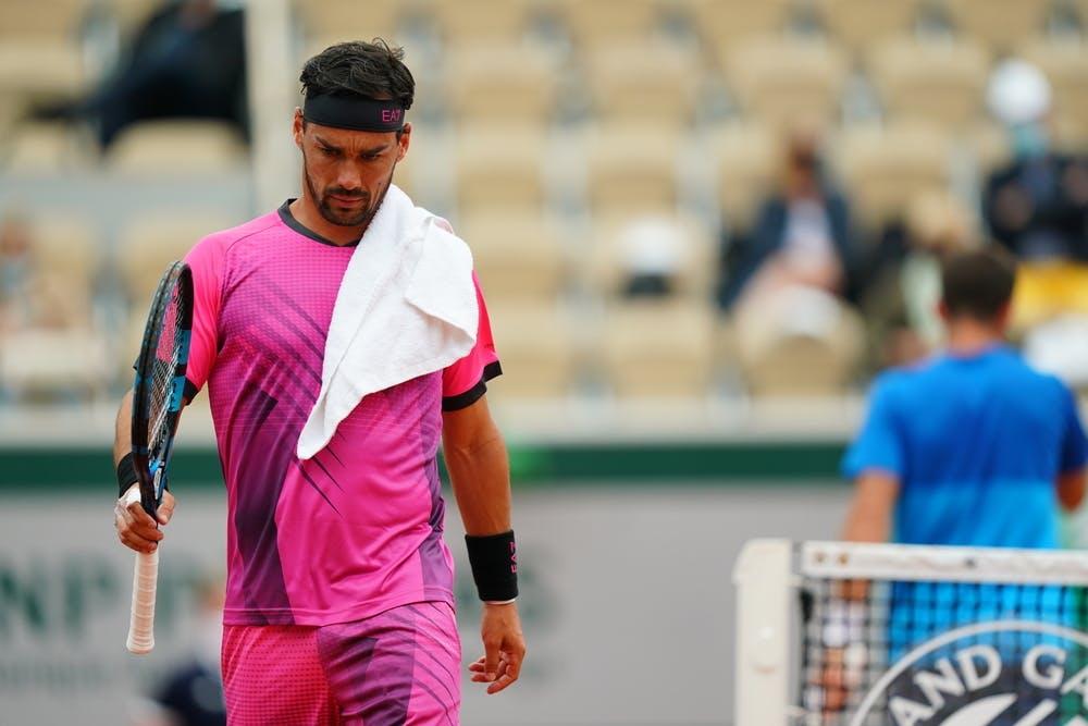 Fabio Fognini, Roland-Garros 2021, third round