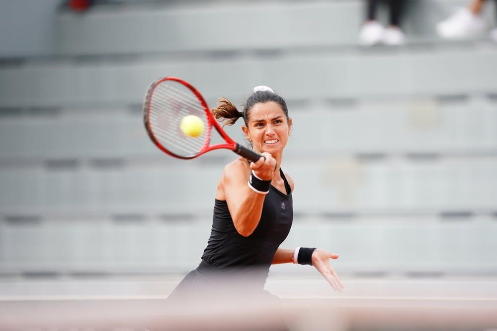 Amandine Hesse, Roland Garros 2020, qualifications