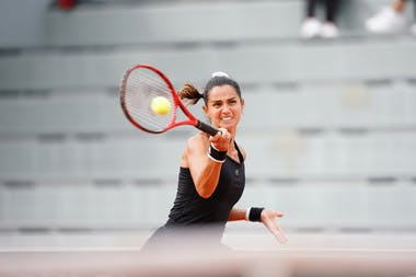 Amandine Hesse, Roland Garros 2020, qualifications