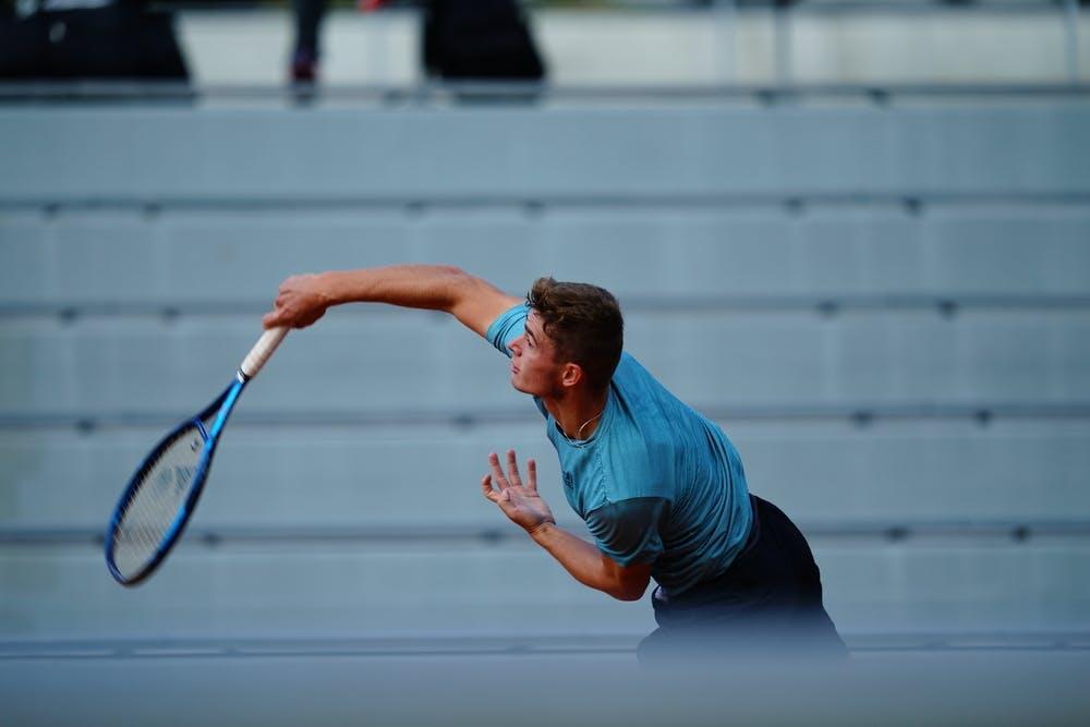 Martin Breysach, Roland Garros 2020, girls' singles, second round