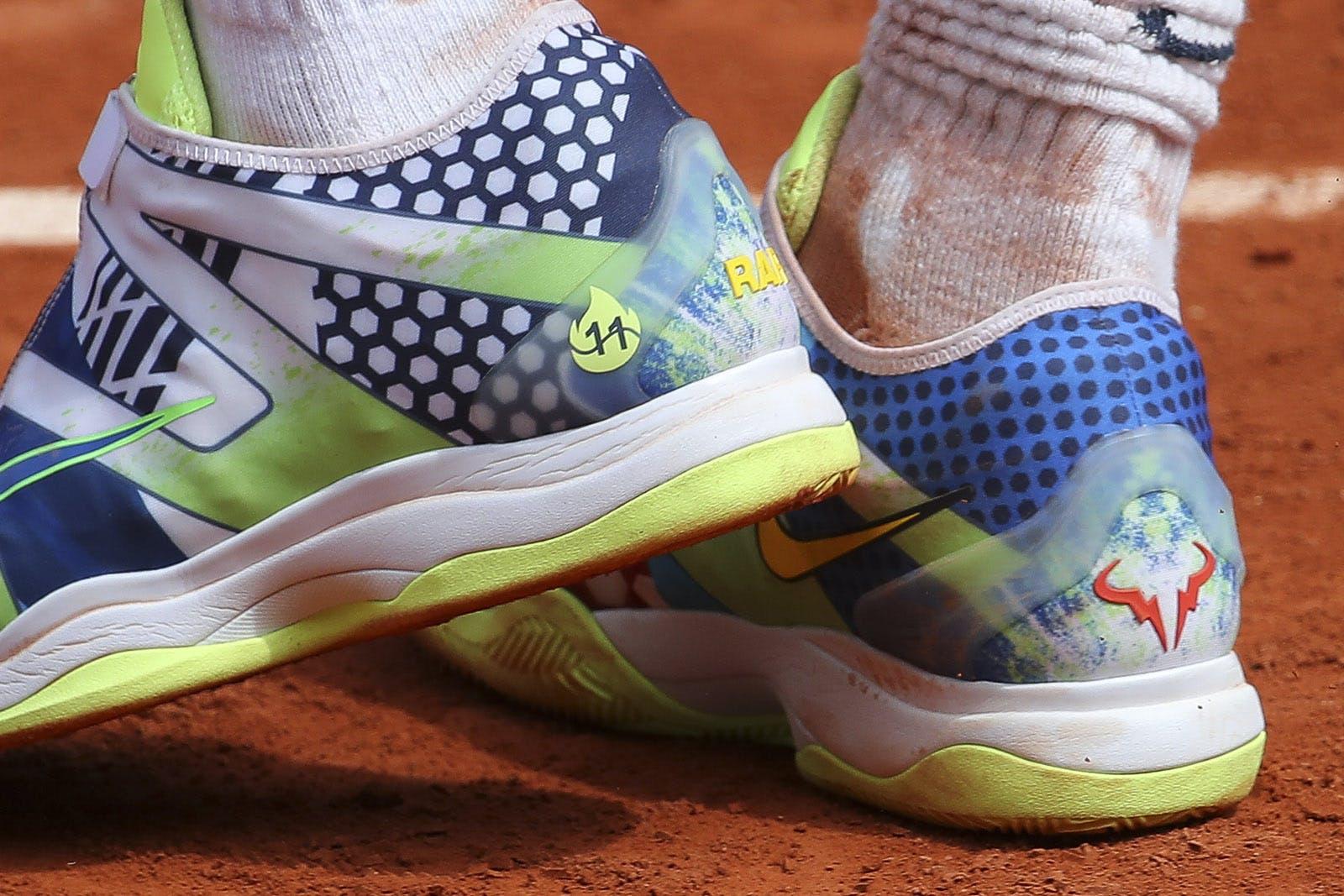 Rafael Nadal - Roland-Garros 2019 Chaussures
