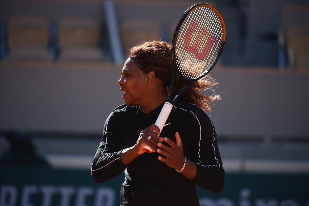 Serena Williams, Roland Garros 2021, practice
