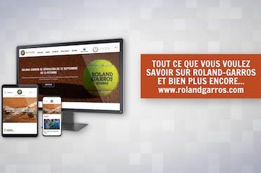 Promo vidéo Roland-Garros.com