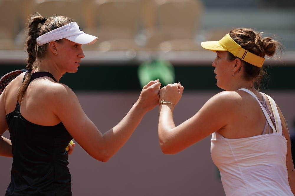 Elena Rybakina, Anastasia Pavlyuchenkova, Roland-Garros 2021, women's doubles third round