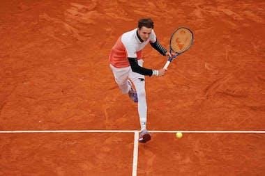 Alexander Bublik, Roland-Garros 2020, 1er tour