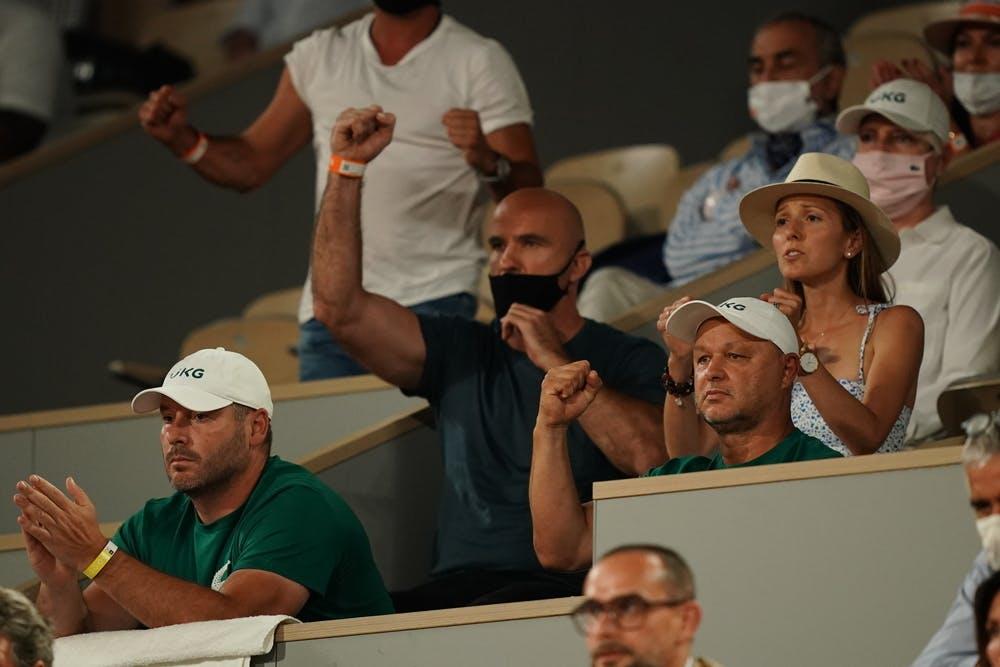 Clan Novak Djokovic, Roland Garros 2021, semi-final
