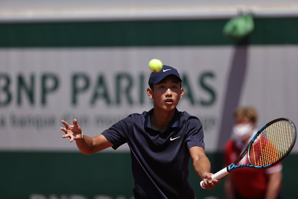 Shang Juncheng, Roland-Garros 2021, boys' singles third round