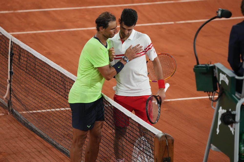 Novak Djokovic et Rafael Nadal, Roland-Garros 2021