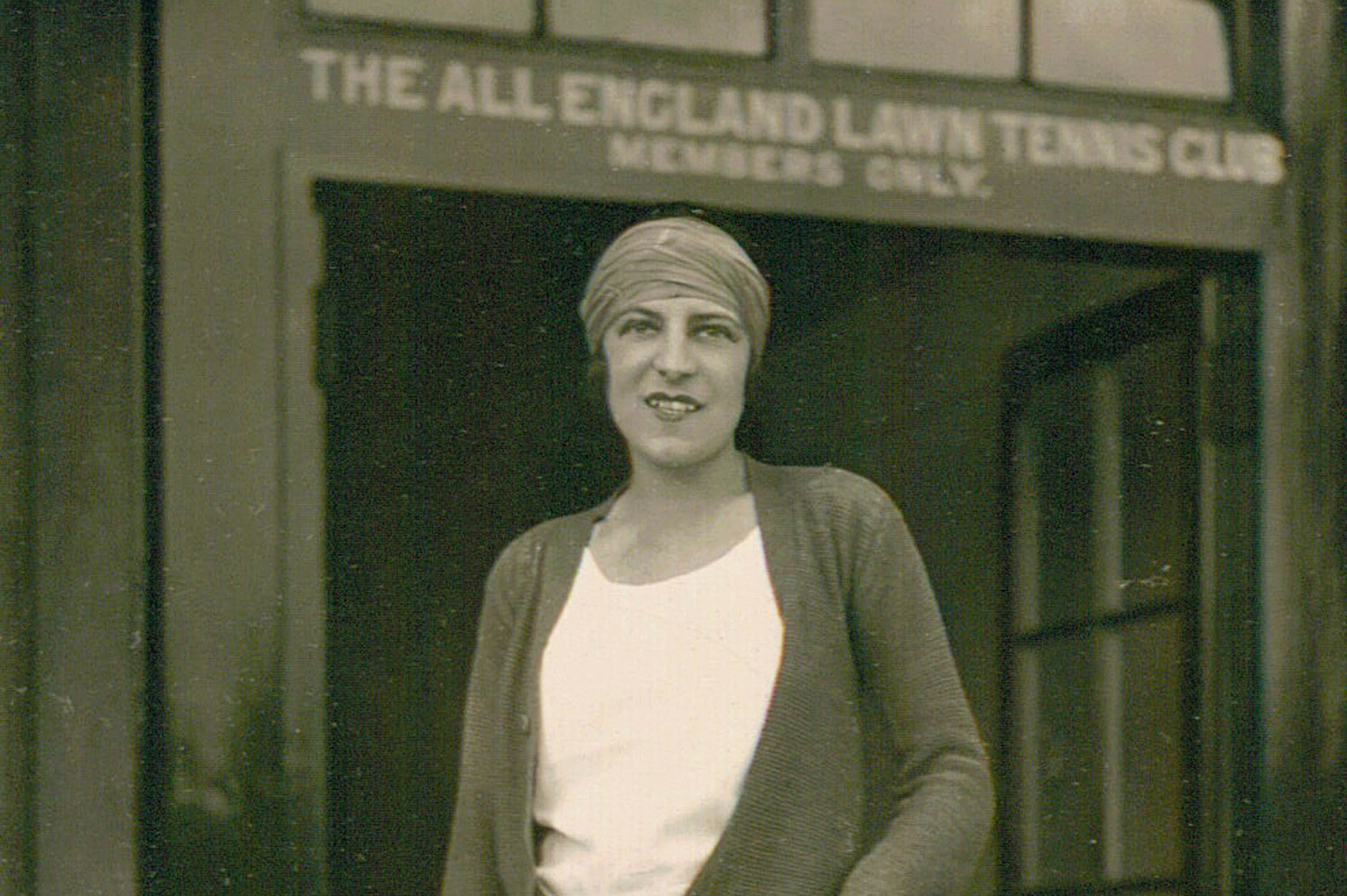 Suzanne Lenglen à Wimbledon 1919