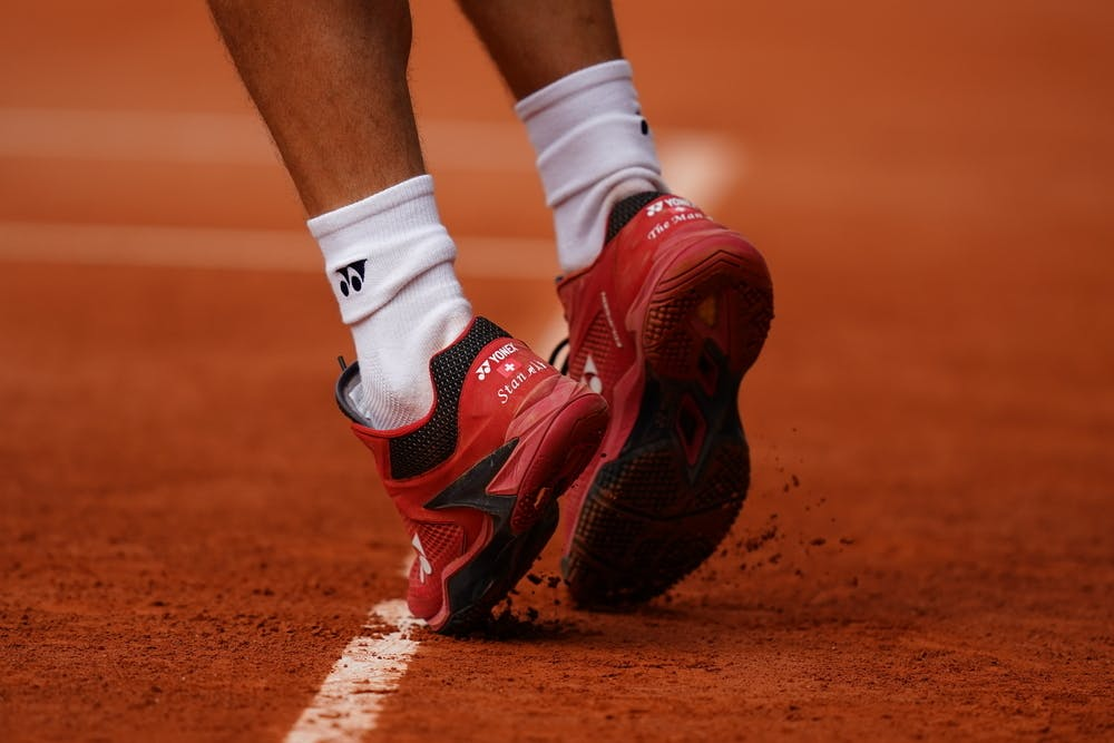 Stan Wawrinka, Roland-Garros 2020, practice