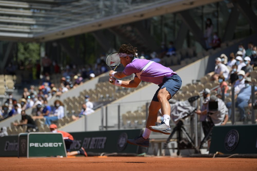 Ricardas Berankis, Roland Garros 2021, first round