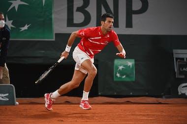 Novak Djokovic Roland-Garros 20202