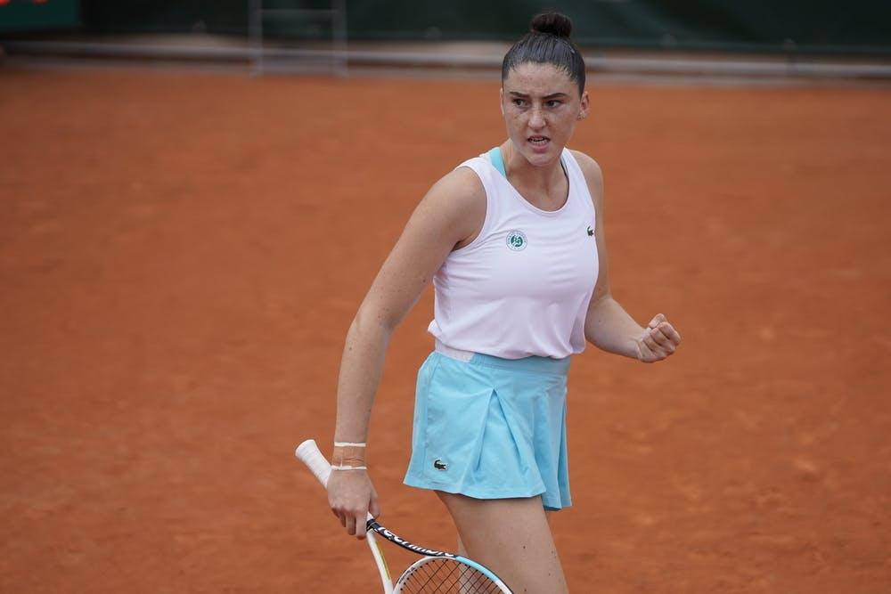 Elsa Jacquemot, Roland Garros 2020, juniors semi-finals