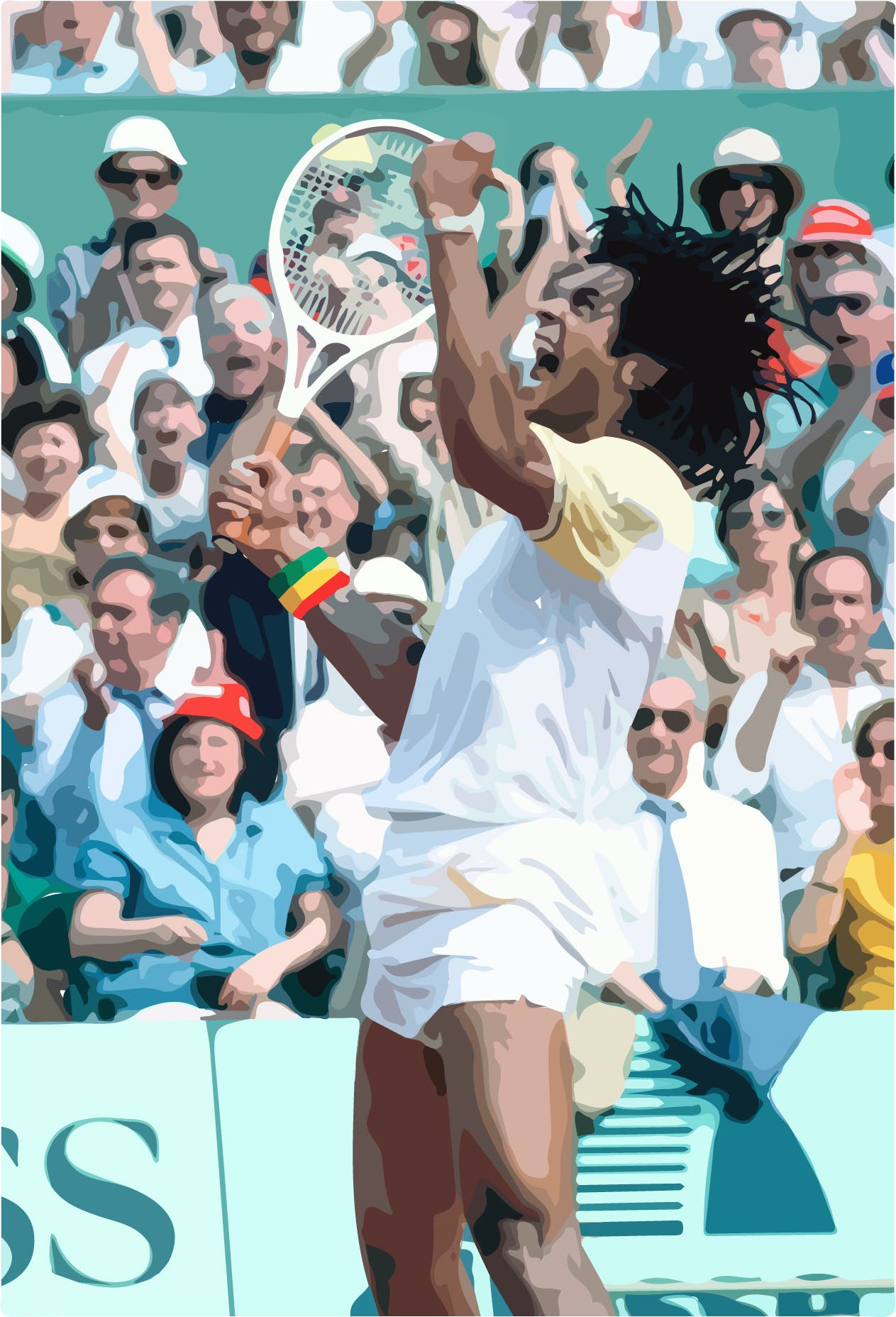 Yannick Noah Victoire Roland-Garros