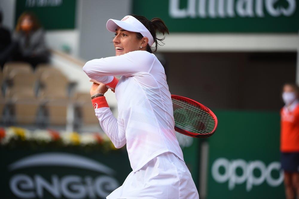Caroline Garcia, Roland Garros 2020, fourth round