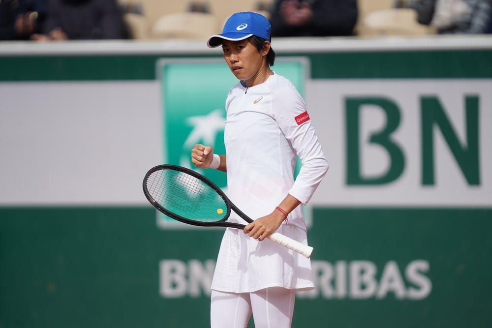 Zhang Shuai, Roland Garros 2020, third round