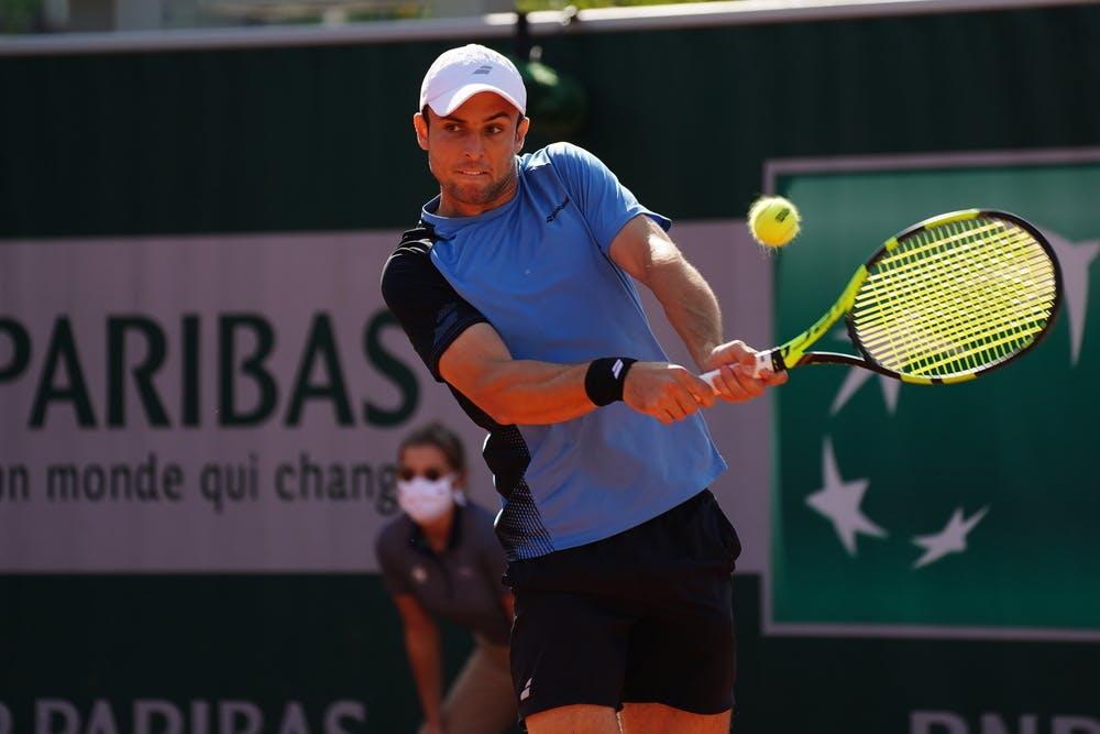 Aleksandar Vukic, Roland Garros 2020, qualifying first round.