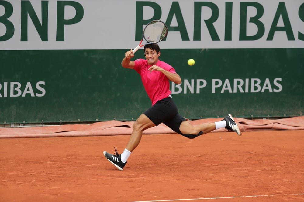 Cristian Garin, Roland Garros 2020, first round
