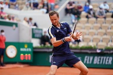 Daniil Medvedev, Roland Garros 2021, third round