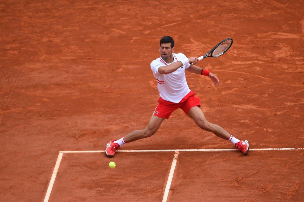 Novak Djokovic Monte Carlo 2020