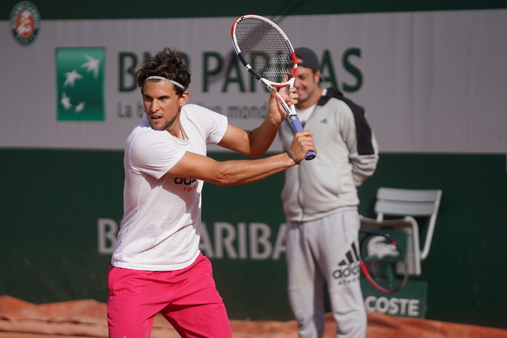 Thiem On The Double For Next Slam Challenge Roland Garros The Roland Garros Tournament Official Site