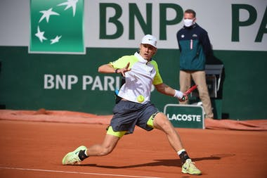 Denis Shapovalov, Roland Garros 2020