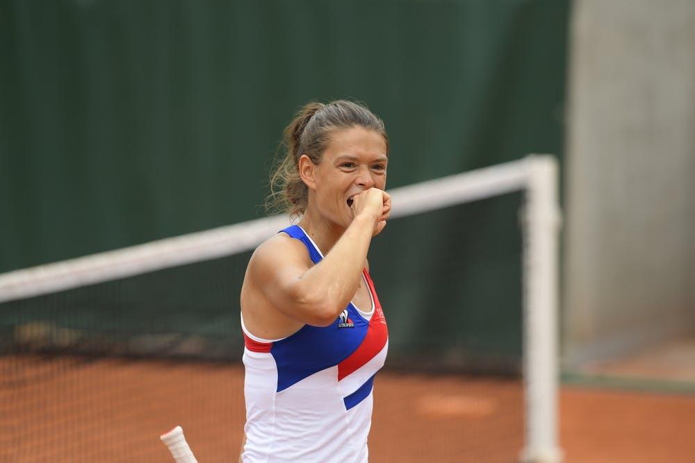 Chloe Paquet, Roland Garros 2021, women's doubles second round