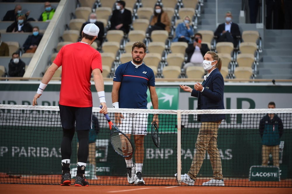 Stan Wawrinka, Andy Murray, Roland-Garros 2020, 1er tour
