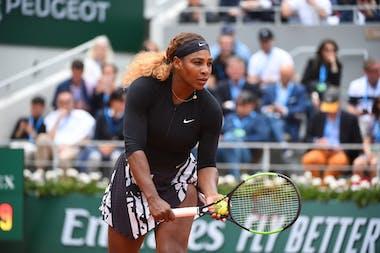 Serena Williams, Roland Garros 2019, second round