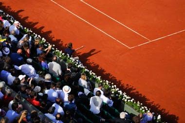 Central Philippe-Chatrier Roland-Garros.