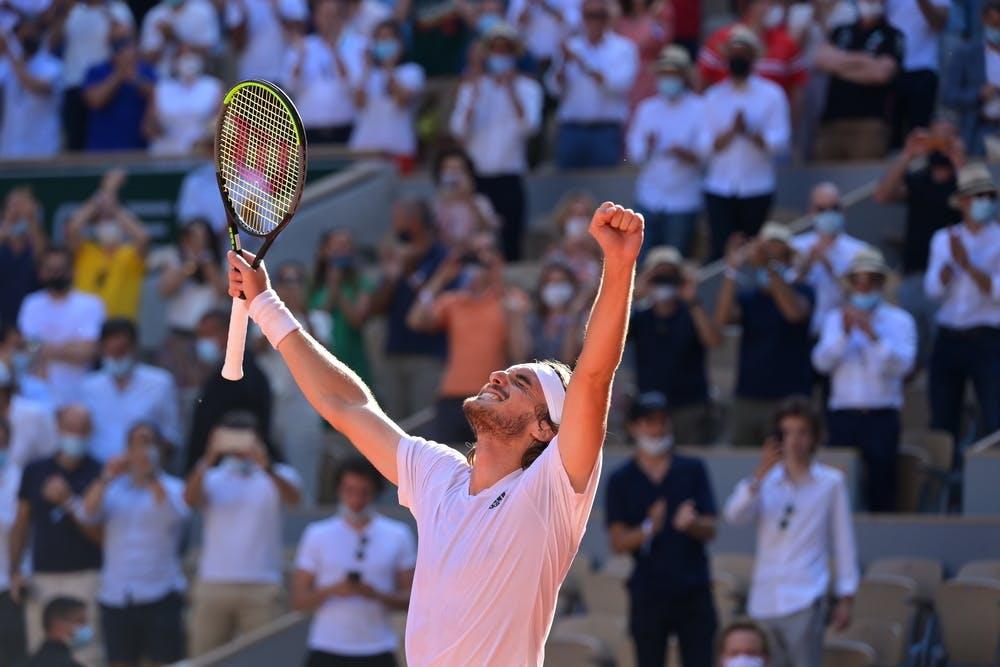Stefanos Tsitsipas, Roland-Garros 2021, semi-final