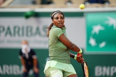 Serena Williams, Roland-Garros 2021 second round