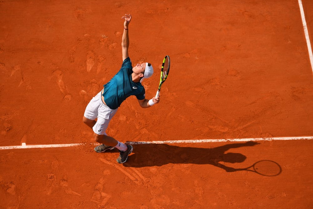 Corentin Denolly, Roland-Garros 2018, Qualifications
