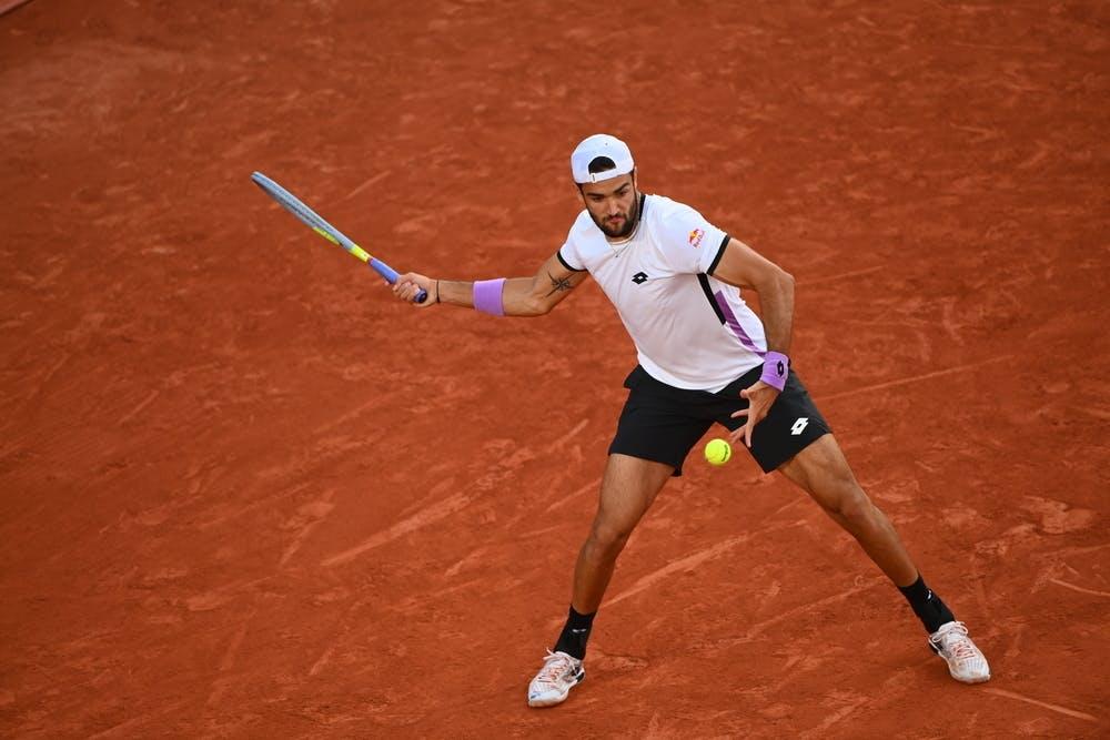 Matteo Berrettini, Roland-Garros 2021
