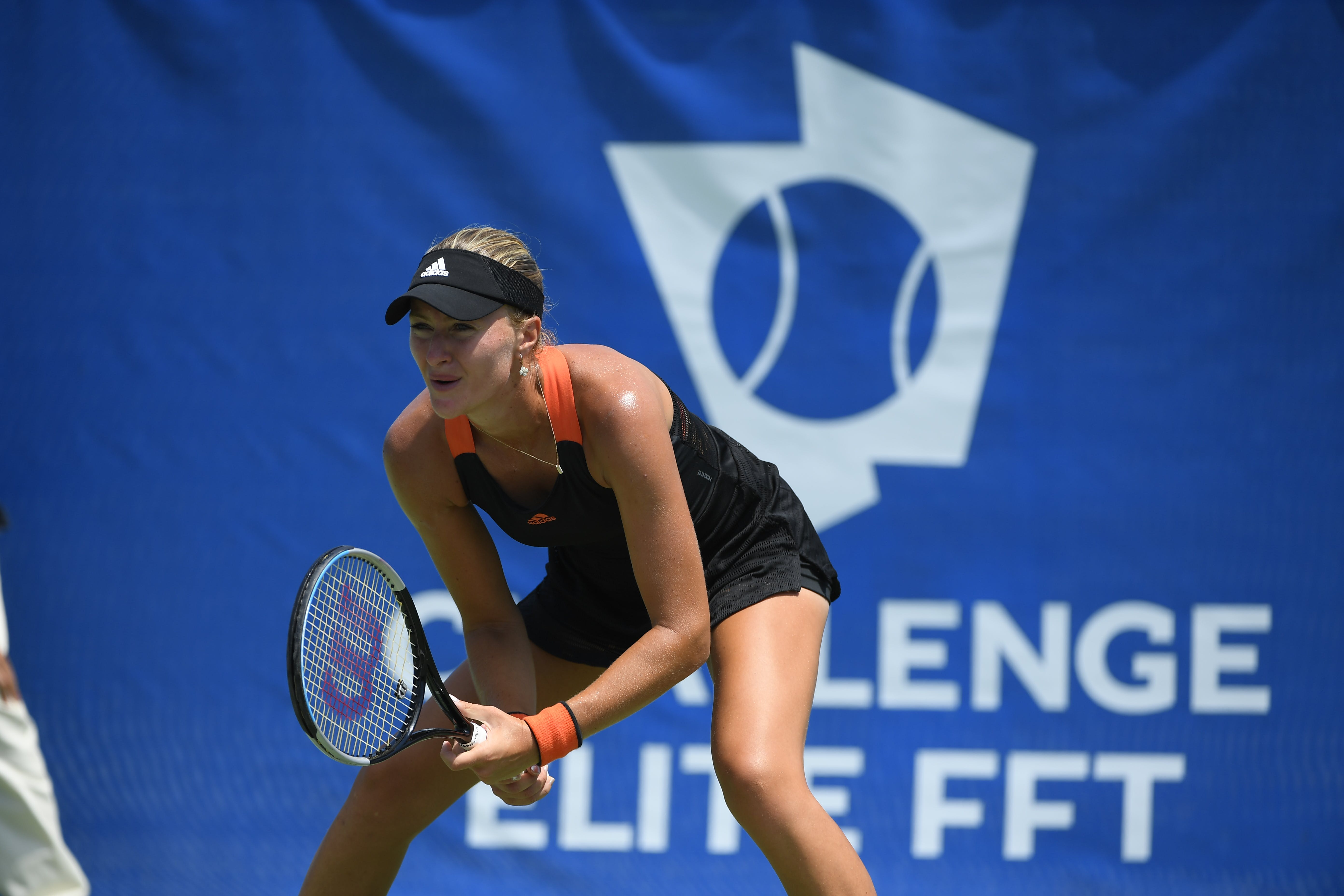 Kristina Mladenovic during the Challenge Elite FFT at Nice