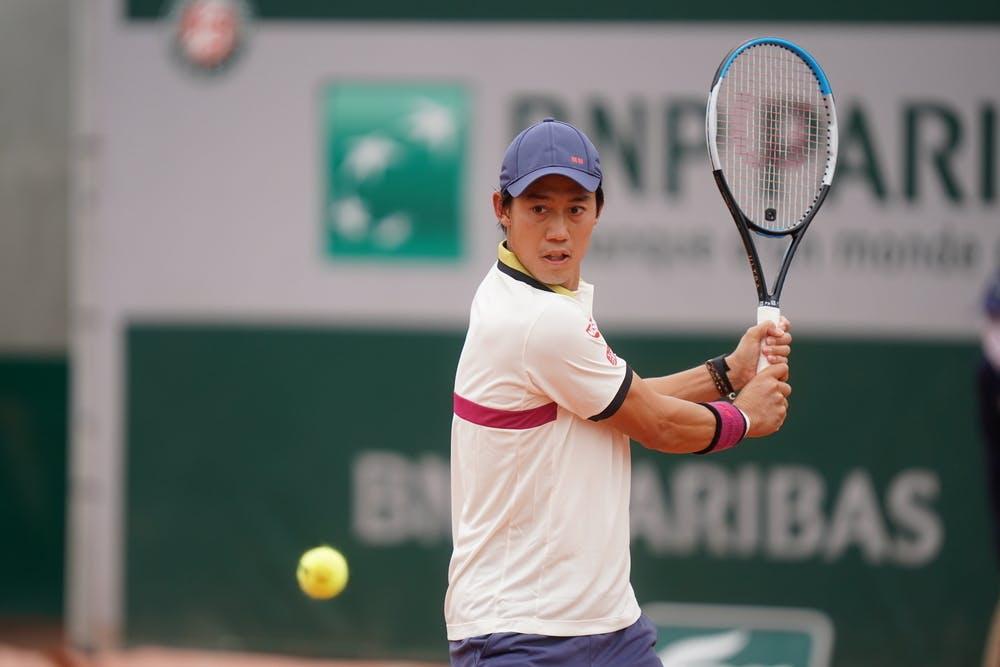 Kei Nishikori, Roland-Garros, 1er tour
