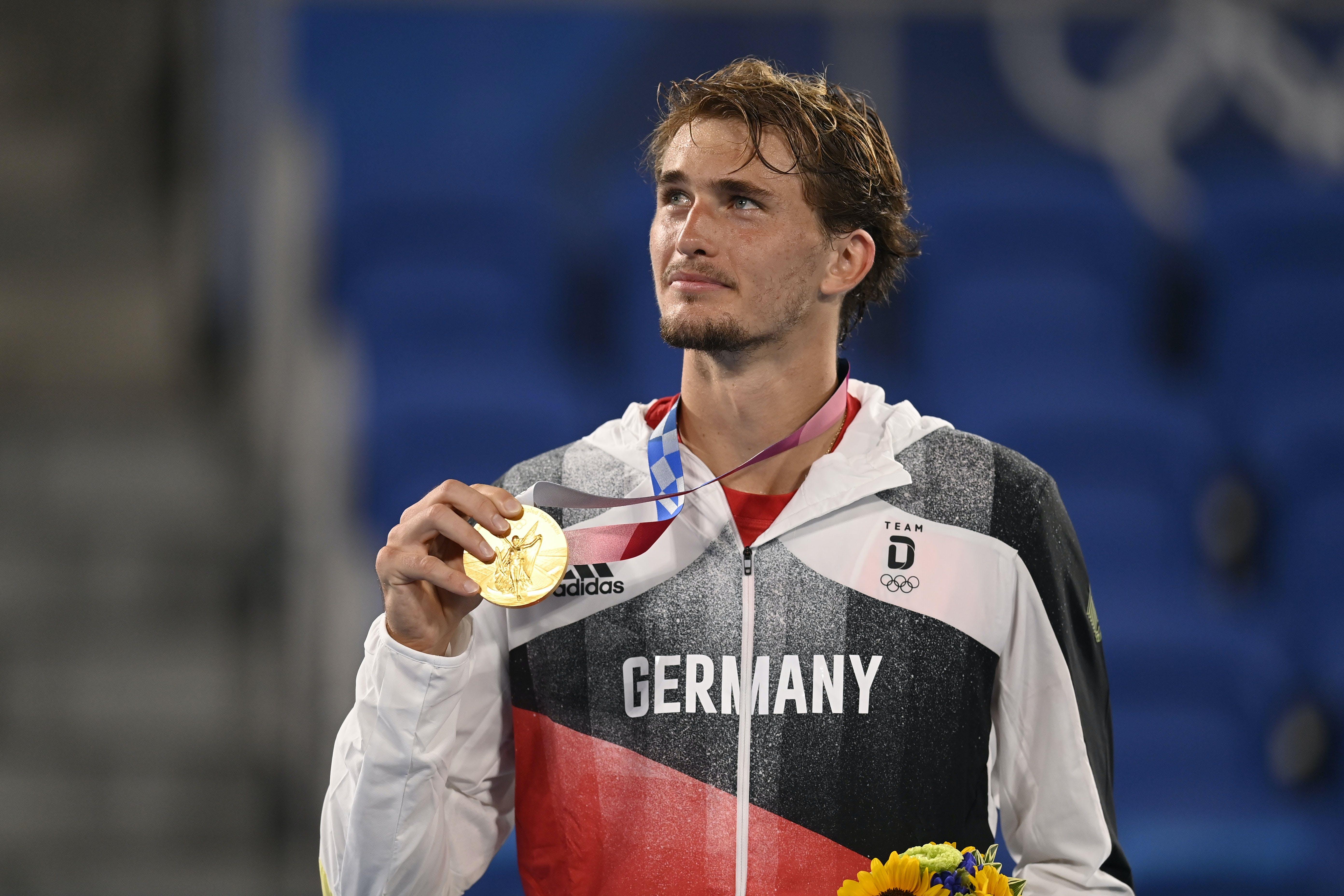 Alexander Zverev / Médaille d'or Tokyo 2020