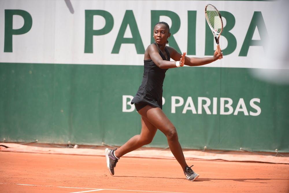 Océane Babel, Roland-Garros 2021, girls singles, 1st round