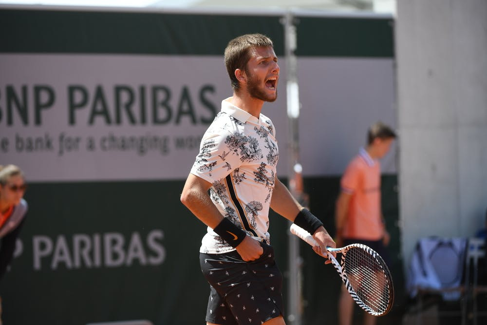 Corentin Mouter Roland Garros 2019