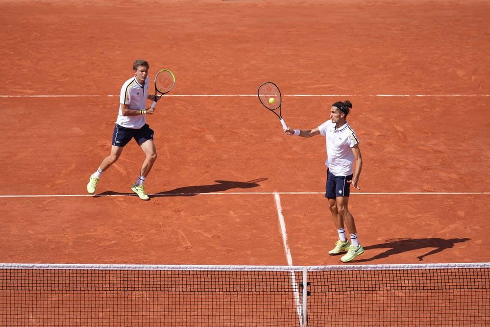 Nicolas Mahut Pierre Hugues Herbert, Roland Garros 2021, doubles semi-finals